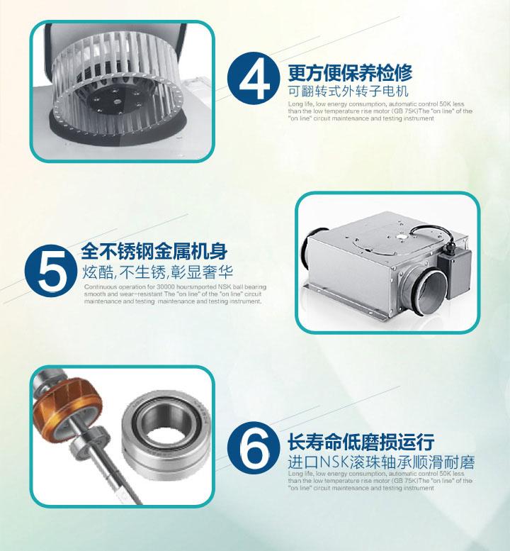 超薄排气扇FV-02NU1C产品特点