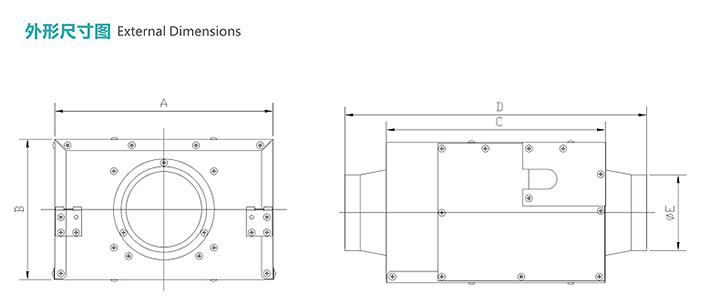 静音送风机FV-12NL3C产品参数