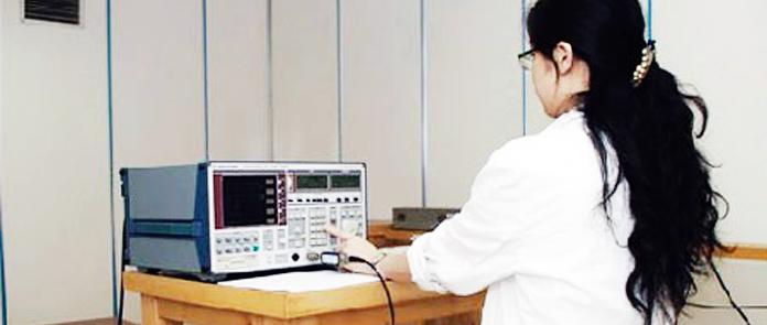纳新机电性能测试室