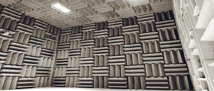 纳新机电噪音测试室