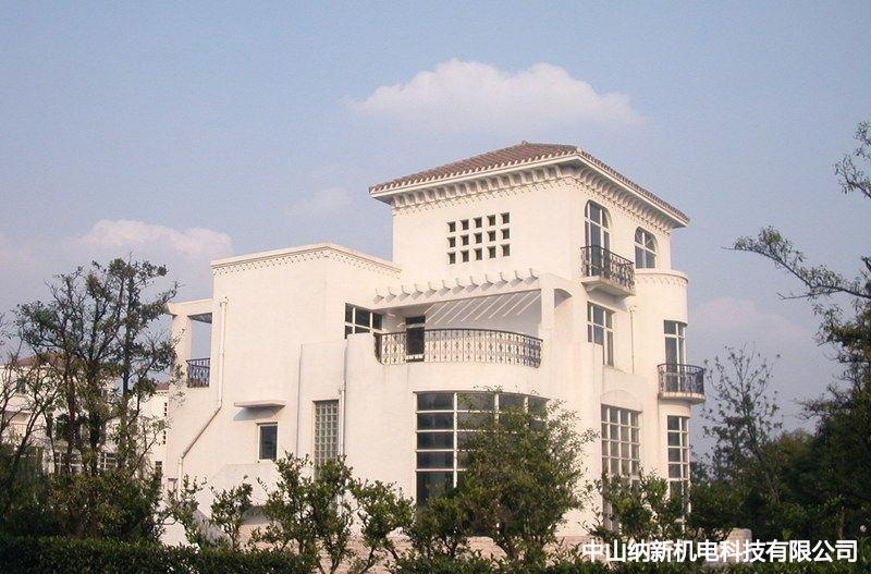 上海虹山半岛别墅地下室新风系统安装完美收尾