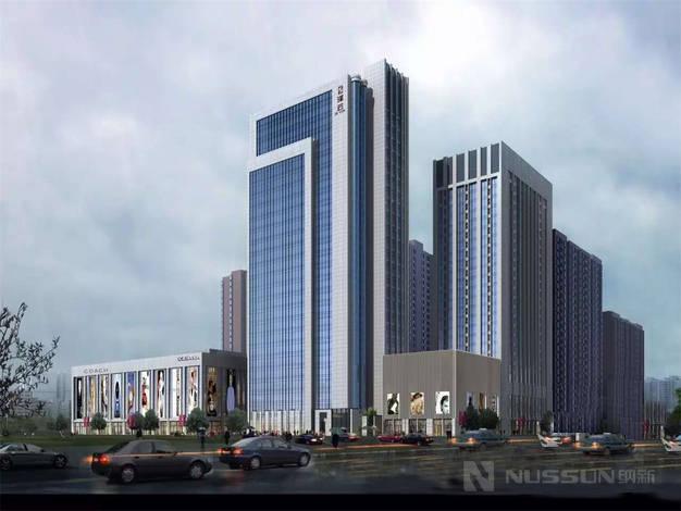 纳新酒店新风系统安装案例之常德泽云酒店