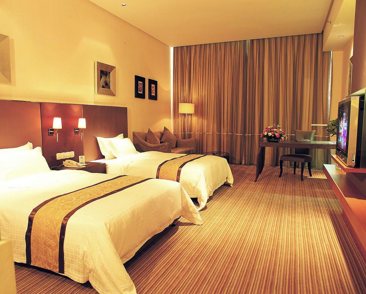 纳新酒店新风系统安装之黔锦国际花园酒店